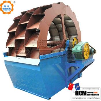 XS sand washing equipment with pu sieve