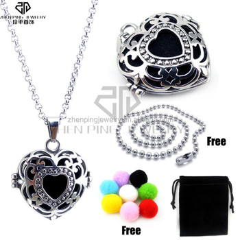 Aromatherapy diffuser sterling silver cage pendant wholesale buy aromatherapy diffuser sterling silver cage pendant wholesale aloadofball Image collections