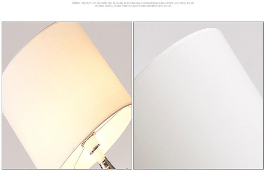 160 센치메터 창조적 인 철 직물 바닥 램프 홈 장식 조명 거실 ...