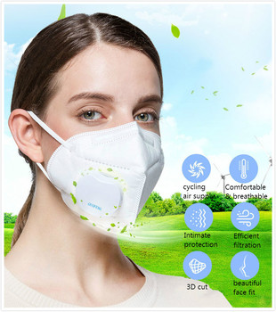 Guo Feng KN95 smart electronic masks for air pollution