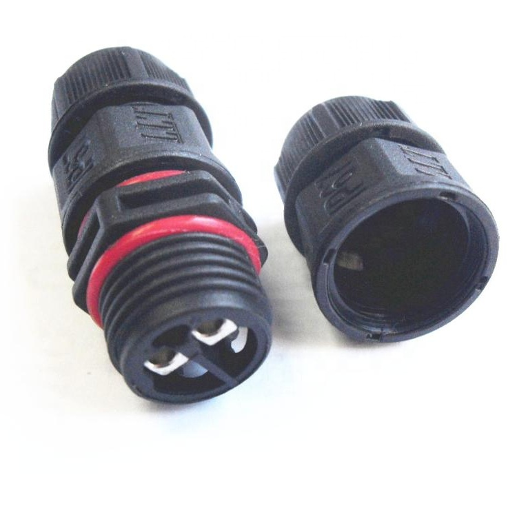 Fabrikpreis in China 2-poliger L16-Kabelstecker wasserdicht