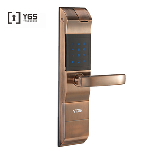 House changing combination biometric door lock system