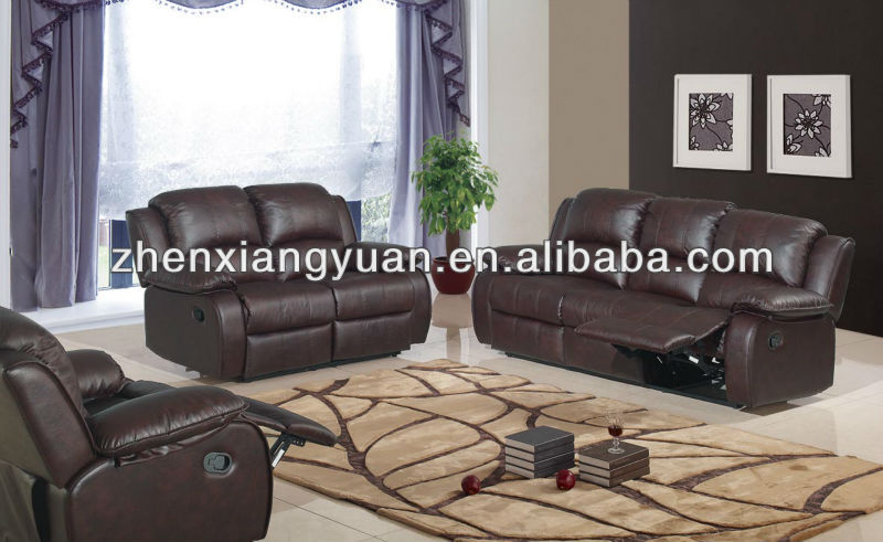2017 Living room furniture sofas Reclining 3 and 2 Seater Suite in faux leather