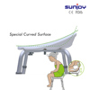 Adjustable medical bath seat bench plastic shower chair