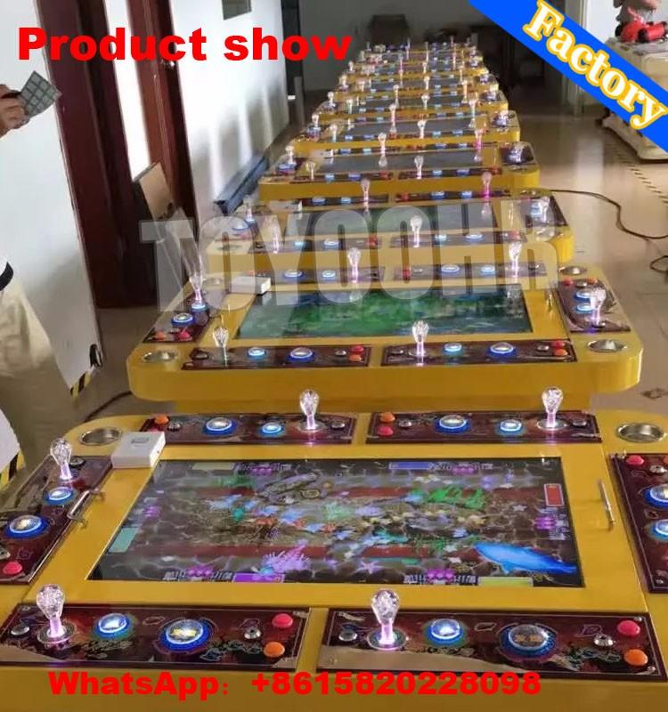 Africa mini popular slot game catch fishing machine with for Fish game machine