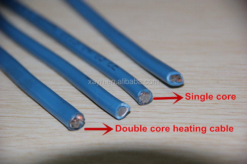 Roof/Gutter Snow Melting Defrost Snow Roof Heating Cable