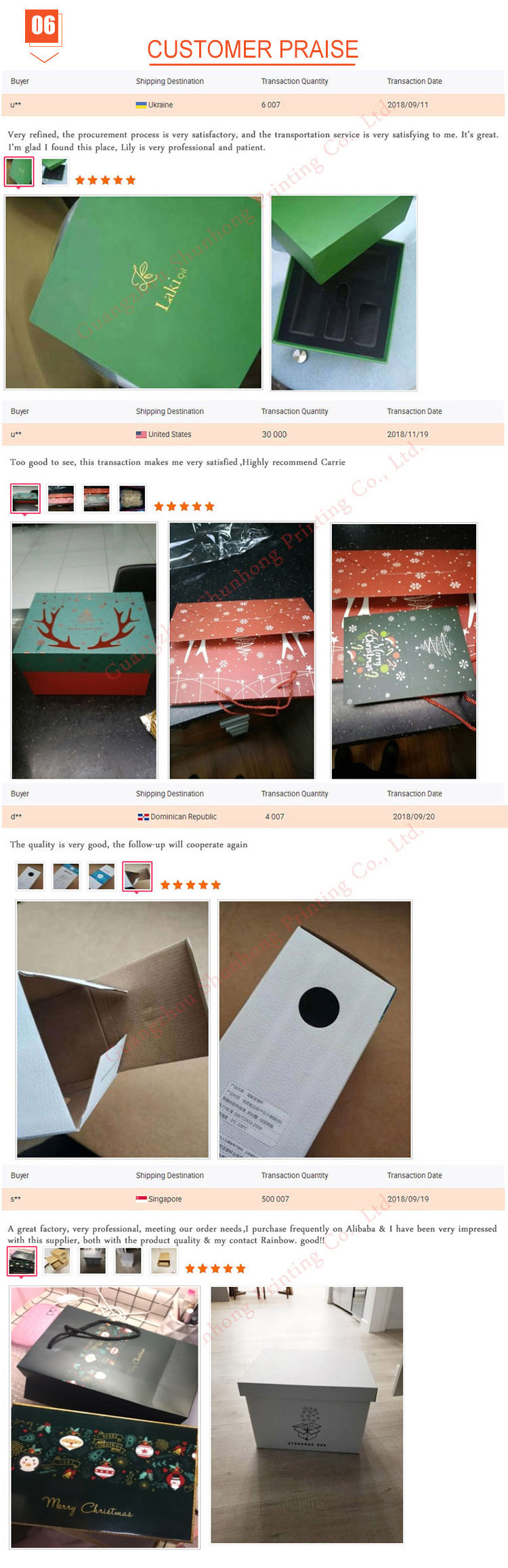 Custom cosmetic electronic instrument paper box pore cleaner gift packaging box for beauty personal care