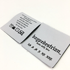 Hot Selling Popular Garment woven label clothes printed label and tags for Summer Fashion T-shirt Women/Men Clothing