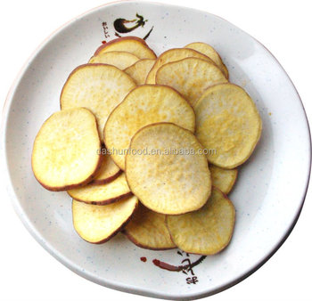 Vaccum Fried sweet potato chips