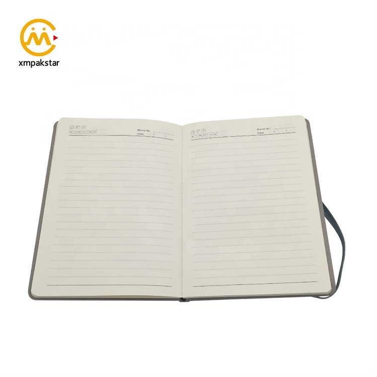 Customised bulk buy small PU hardcover office organiser planner notebook with debossed logo