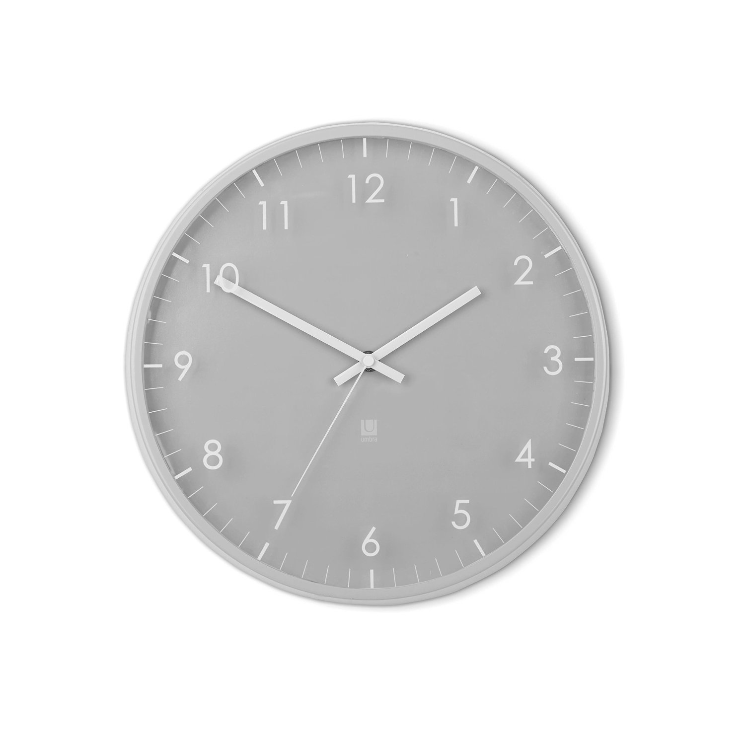 Umbra Pace Wall Clock, Gray