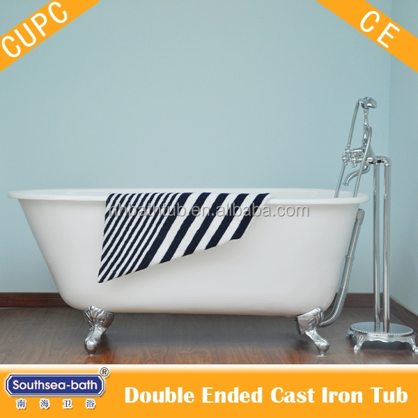 Free Standing Cast Iron Tubs. Ways To Clean A Cast Iron Tub Wikihow ...