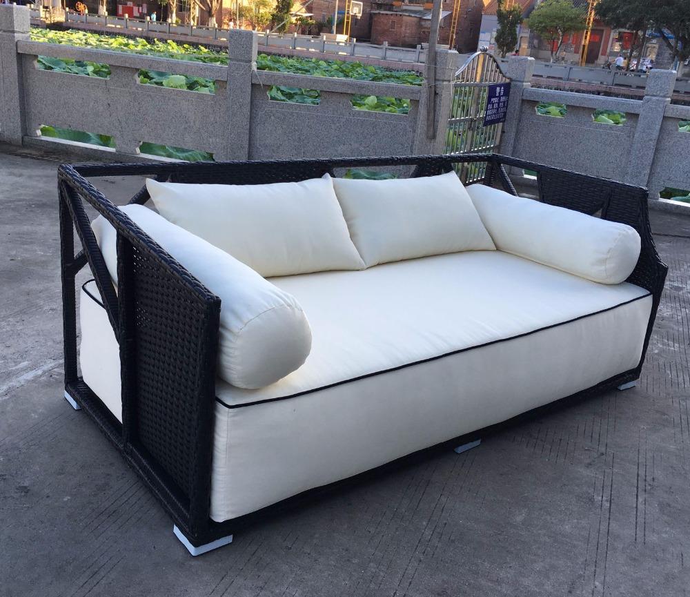 Etonnant Neue Design Gartenmöbel Luxury Chaise Lounge Großer Liege Sofa Bett Billig  Terrasse Schlafcouch