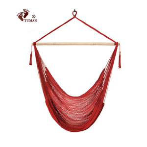 New Design Sling Cotton Hanging Hammock Rope Chair