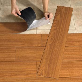 Stick Vinyl Pvc Plank Flooring Tile