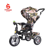 YYXuan good quality folding baby walker/kids tricycle with mom push bar/children folding tricycle