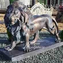Christian decoratie metalen lions <span class=keywords><strong>standbeeld</strong></span> fabriek