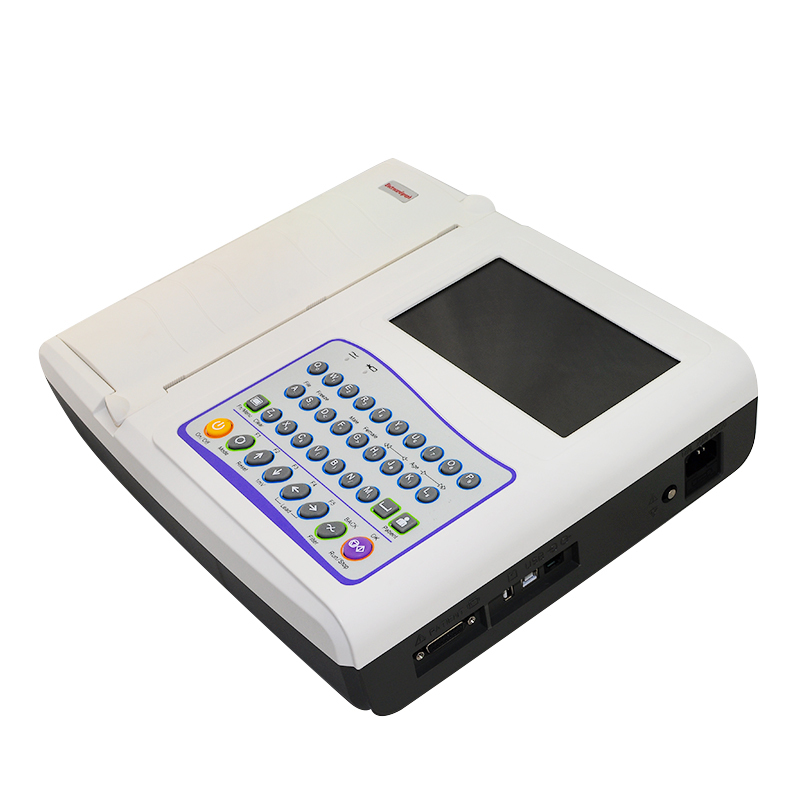 2014 12-Channel ECG EKG Machine Electrocardiograph 18 month warranty  CE Approved