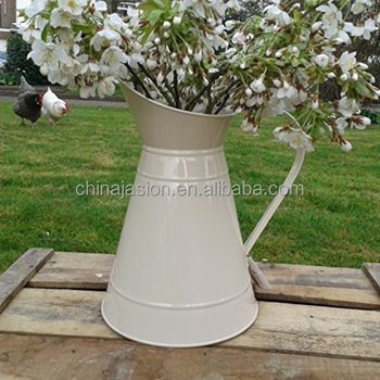Flower Chic Mini Metal Pitcher Vase For Home Decoration Pots Buy
