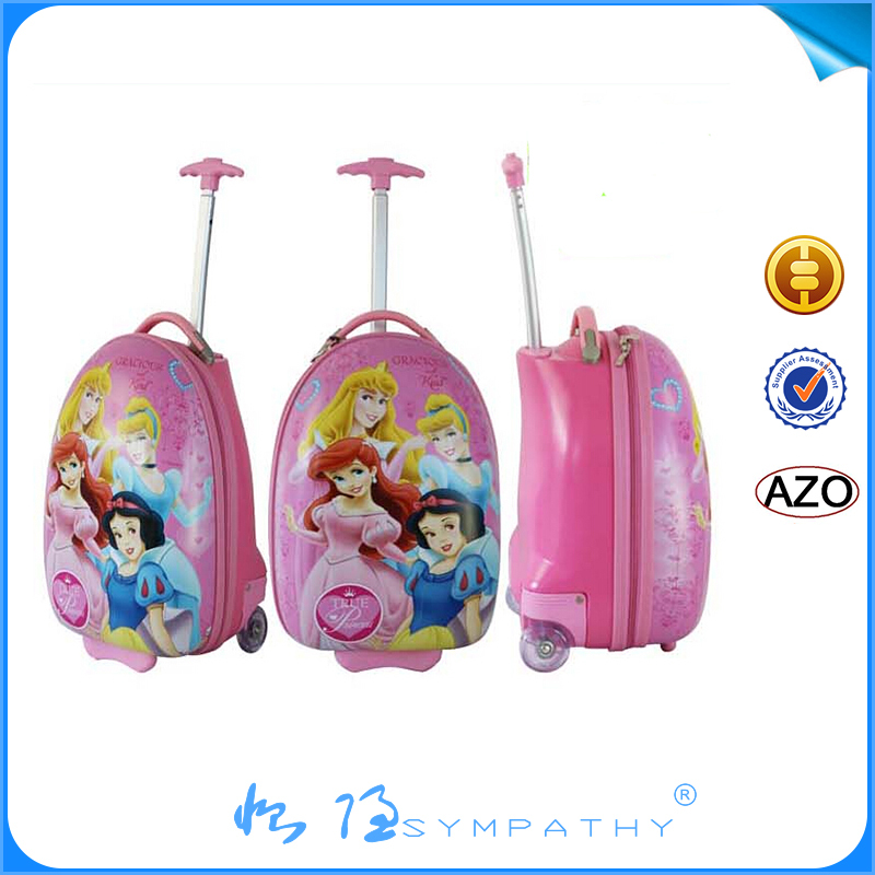 Small Children Suitcase Set Cute Cartoon Abs Kids Hard Shell ...