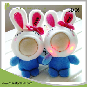 Lovely Custom 3d Face With Plush Toy Cute stuffed Toy Plush 3d Face Doll