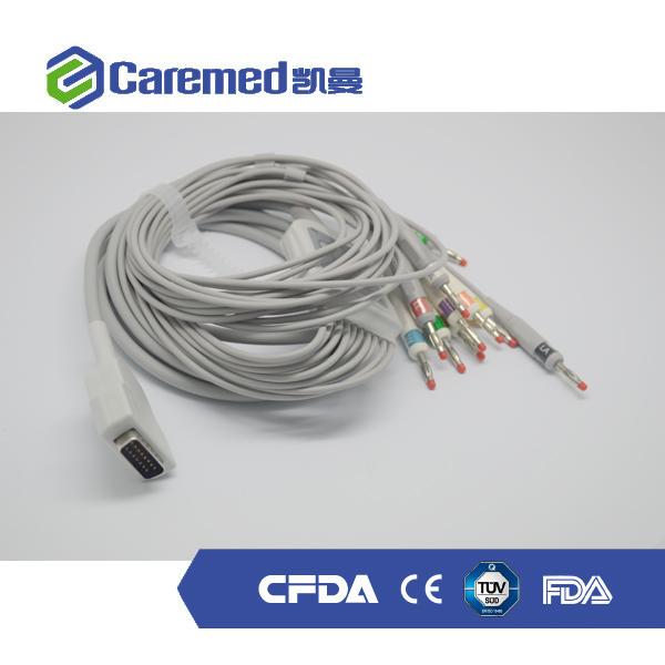 Finden Sie Hohe Qualität 6 Führen Ekg-kabel Hersteller und 6 Führen ...