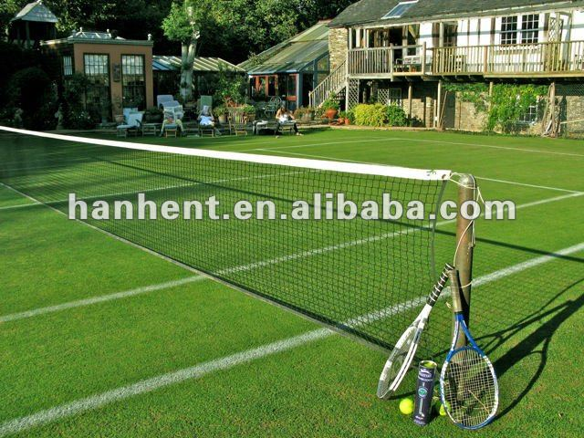 Excellent bouncing property tennis grass