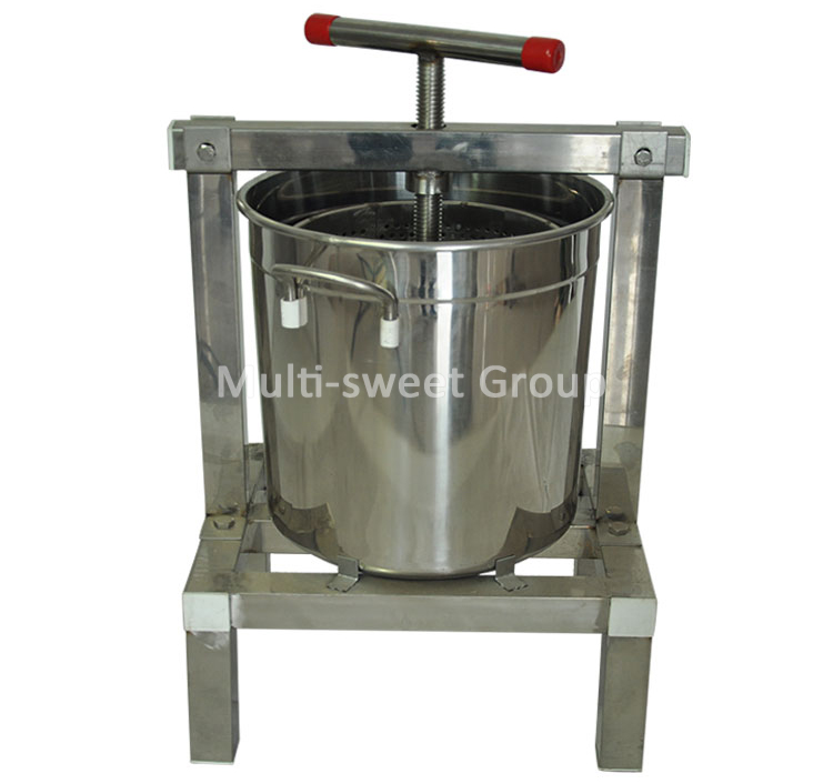 Multi-sweet stainless steel honey bee wax beeswax press machine for sale