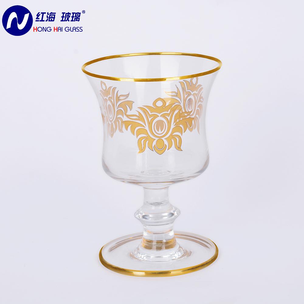 Árabe de cristal de vidrio quemador de incienso