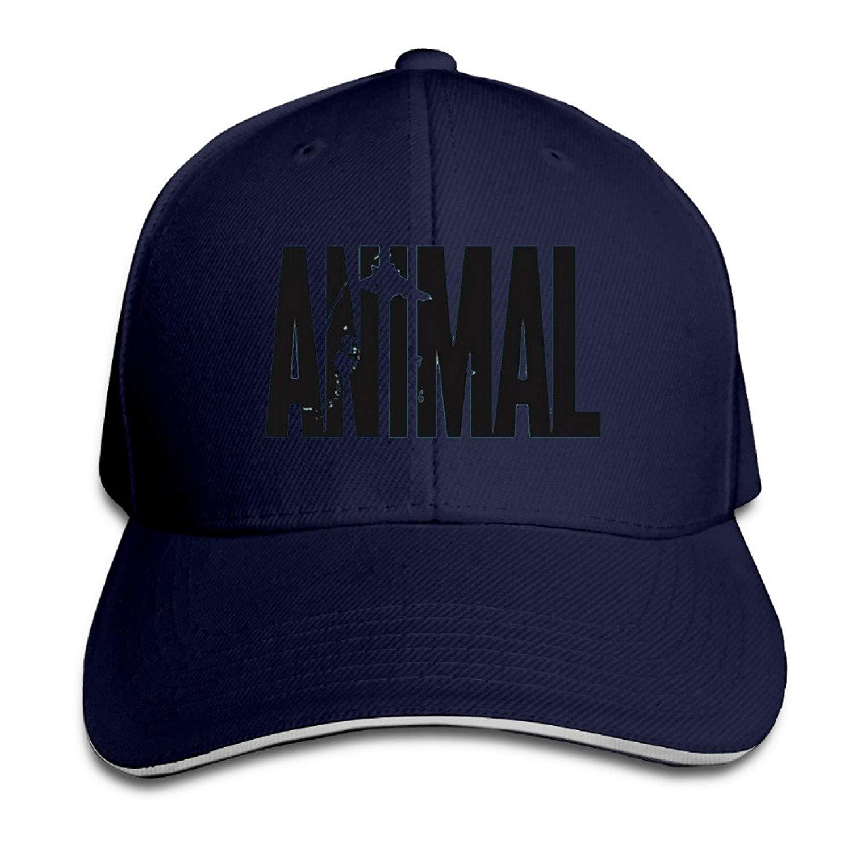 SUNNYsun Animal Letter Print Stringer Bodybuilding Baseball Caps Snapbacks Plain Caps