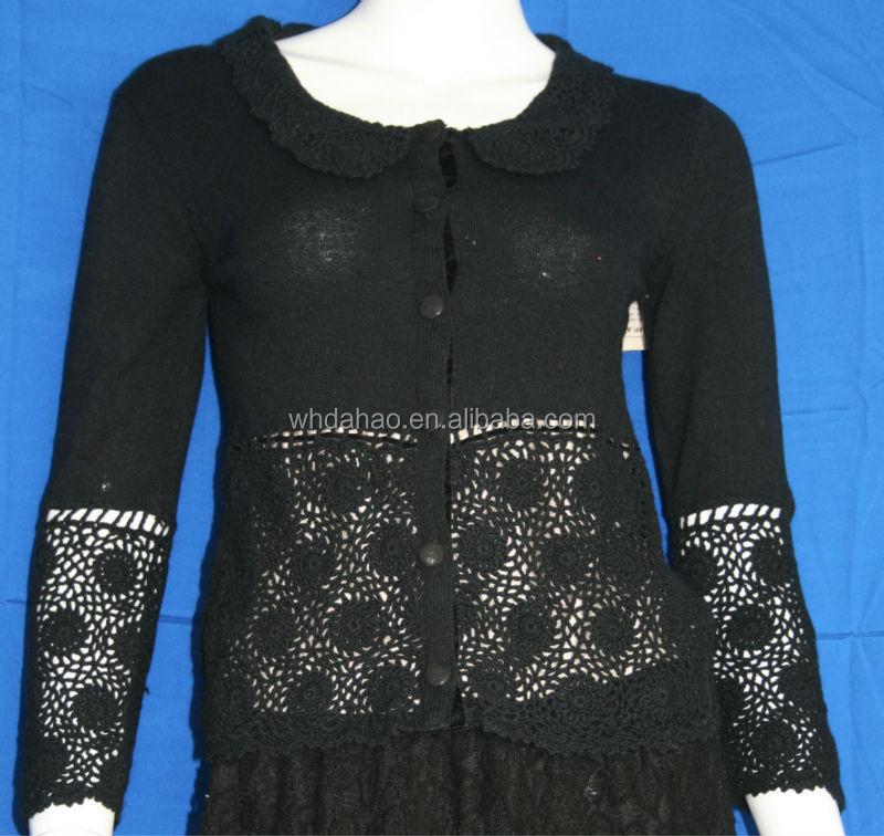 Lady Fashion Custom Long Sleeve Bottom With Design Of Hand Made ...