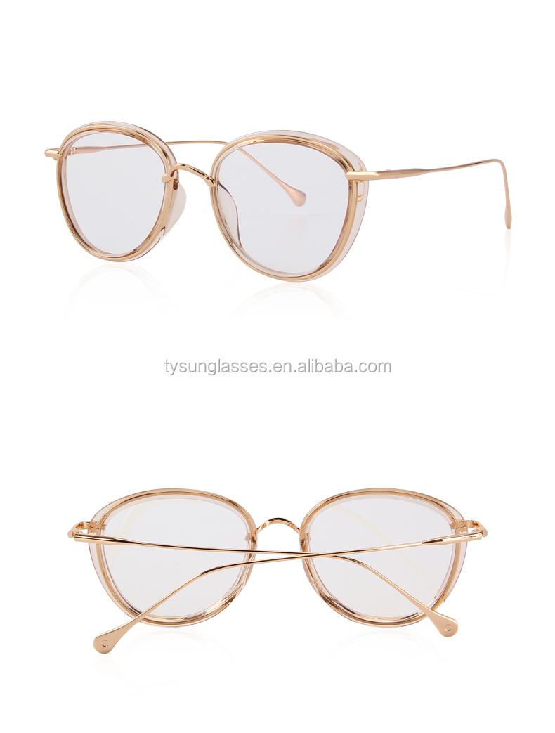 Frauen Retro Oval Optische Rahmen Brillen Männer Klassische Gläser ...