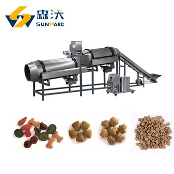 Jinan Sunward Professional Fish Feed Dog Pet Food Processing Line