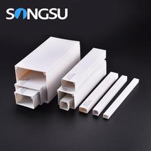 Good insulation fire-proof 16x16 25x16 40x16 40x25 50x50 pvc cable trunking