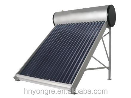 Low(non) pressure solar water heater/100Liters/Bathroom use for 2-3 people