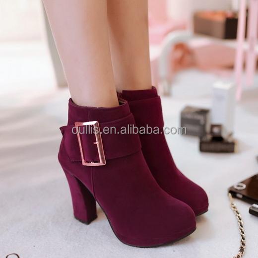 9bfa7c100 أحدث السيدات أنيقة الأحذية الأحذية أحذية النساء الكاحل CP6632-أحذية ...
