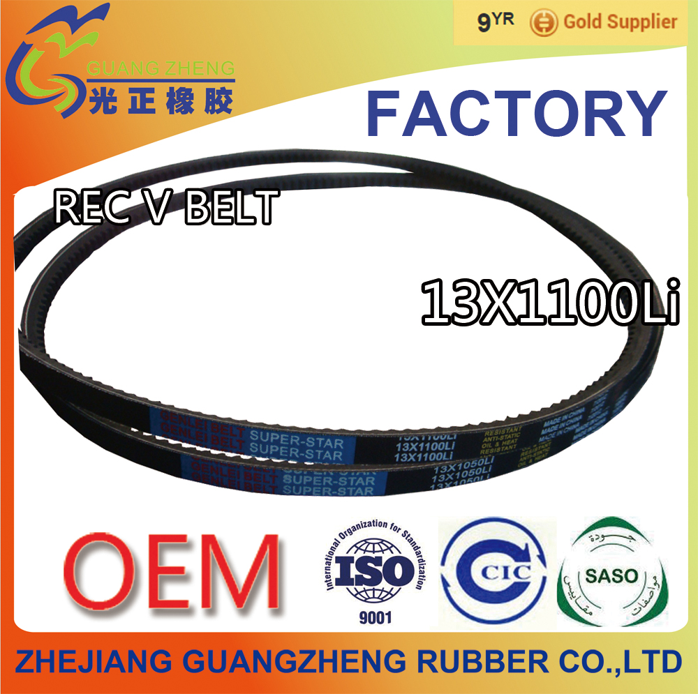 Recmf-6340 Ax34 13x864 V Belt/ Apply For Toyota Ford