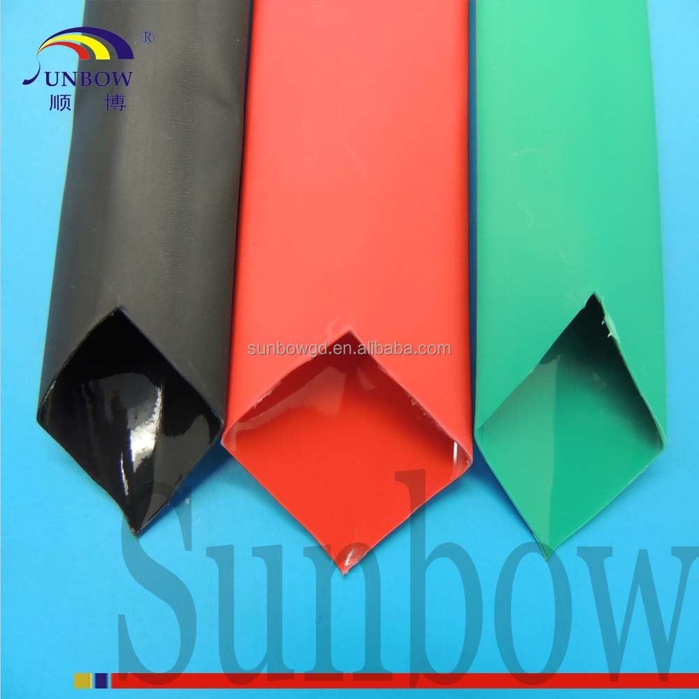 PE Material and Insulation Sleeving Type neoprene heat shrink tubing