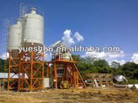 Sell concrete batching plant HZS50 with CE on promotion