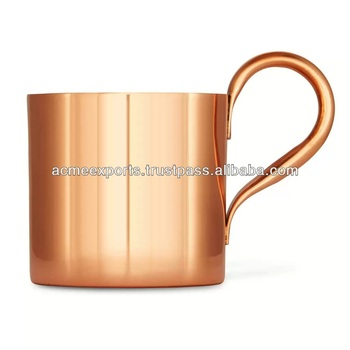 Manufacturer Of Moscow Mule Copper Mug , Copper Brass Beer Mugs Suppliers