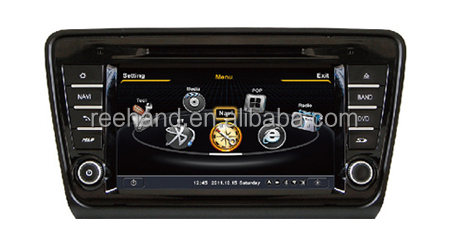 "8"" Touch screen Car DVD GPS for Skoda Octavia 2013 with Gps Navi,3G,Wifi,A8 Chipset ,Bluetooth,Ipod,Free map Support DVR"