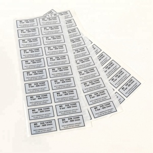 Shipping Labels Usage and Paper Material Hair Extension Labels