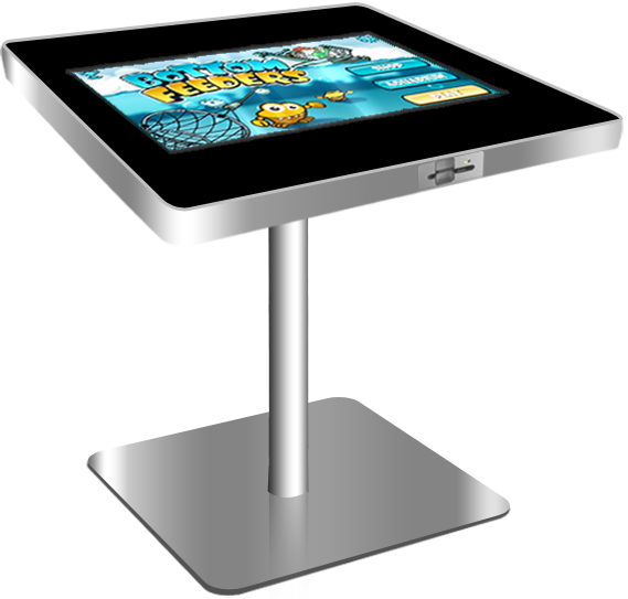 restaurant 46inch stand alone acrylic table display with ir touch screen buy acrylic table. Black Bedroom Furniture Sets. Home Design Ideas