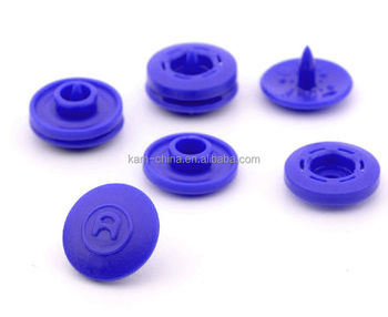 Best Sell ! Nylon / Pom Material And Shank Style Snap Fastener / Kam T5  (size 20 ) Glossy Garment Plastic Four Parts Snap Button - Buy Plastic Bags