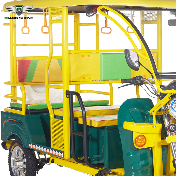 ECO friendly electric tricycle passenger electric rickshaw tuk tuk for sale