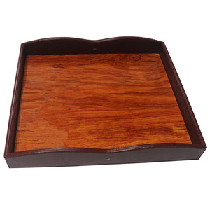 wholesale ice cube wood serving tray