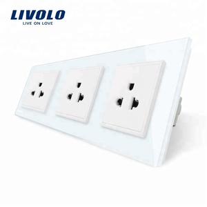 Livolo New US Standard Electric Socket 16A Triple Wall Power Outlet VL-C7C3US-11
