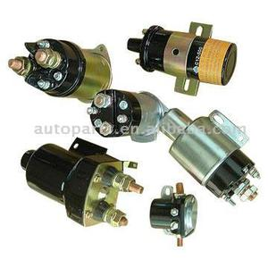 starter parts - solenoid switch for delco hitachi ND mitsubishi chrysler lucas