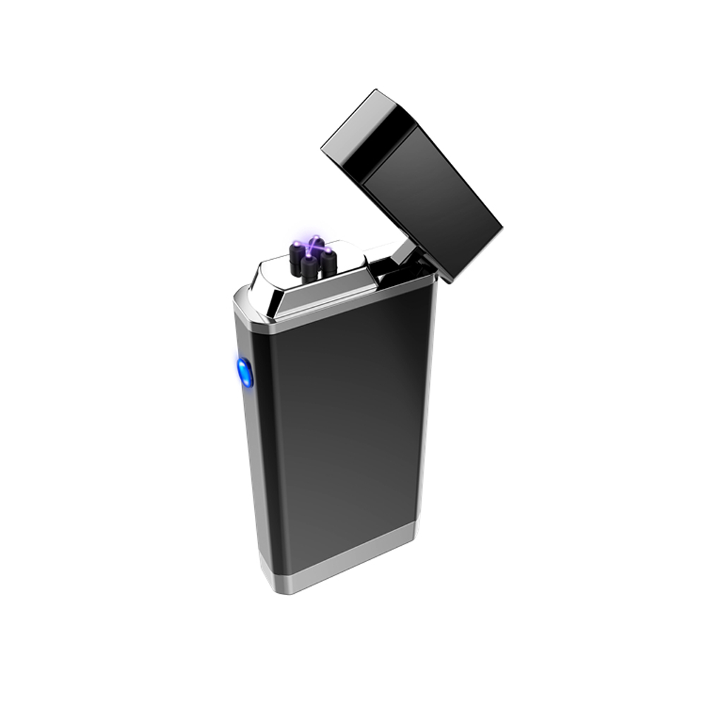 Real Double arc Metal Lighter With Mini Camera Portable 1080P Security Pocket hidden Camcorder PQ526