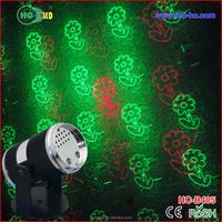 Hcled Black Abs Shell Mini Laser Light Show 5v Red Green Rotating ...